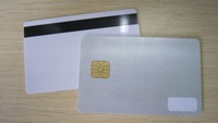 SLE4428 Sparkly Smart Card with 8mm small magnetic stripe
