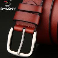 Bywoky lengthen single tier cowhide 150 strap genuine leather  14103002