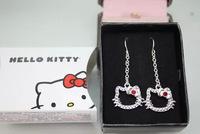 2014 New Arrival Korean Trend Earrings Wholesale Hello Kitty Earrings For Women