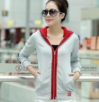 Free Shipping High Quality Cotton Fall Fashion Leisure Sport New Hoodies