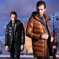 HOYANP 2014 New Men down jacket Men's Outdoor Jacket Casual Long Men's Winter Down Jacket, Winter jacket men,L/XL/2XL/3XL/4XL!