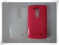 1 Piece/lot , FREE SHIPPING, High Quality Pudding TPU Case for LG L Fino,  different colors