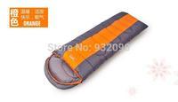 Adult widening winter sleeping bag, waterproof, ripstop fabric, hollow cotton filling. Splicing sleeping bag.