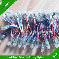 1000Pcs/Lots 12mm WS2801 Led Pixel Module, IP67 Waterproof DC5V Full Color RGB Christmas Led Light