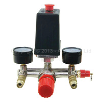 Air Compressor Pressure Control Switch With Valve Gauges Regulator free shipping