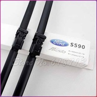 Free shipping car wiper blades for Ford Fiesta, Soft Rubber WindShield Wiper Blade 2pcs/PAIR,deflector window
