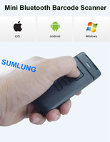 Mini Bluetooth Barcode Scanner CT20 for APPLE iOS iPad iPhone Android mobile phone tablets Windows PC Portable Wireless CCD