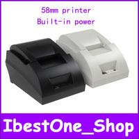 Free shipping!!POS Supermarket Small ticket Laser Label Printer Thermal Receipt USB Printer Wholesale&Retail printers