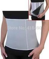 New Adjustable Sauna Slimming Waist  Belt Burn Belly Fitness Body Fat Cellulite Burner Shaper Christmas Gift With 5 Zippers Wrap