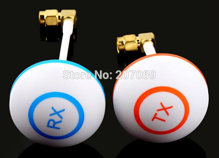 1 pair(RX + TX))FPV 5.8 Ghz Antenna Clover Leaf 5.8g Mushroom Aerial Set w/SMA Plug For FPV Aerial RC(China (Mainland))
