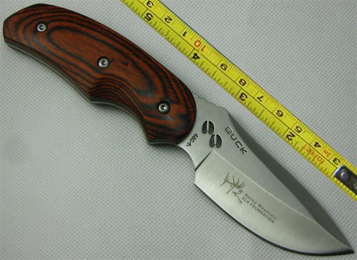 Buck Hunting Knife Rocky Mountain Elk Foundation 480(China (Mainland))
