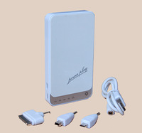 Free Shippingh wholesle 10  unit  5200mAh Dual USB Universal Power Bank  for  for iPhoneiPad smartphones