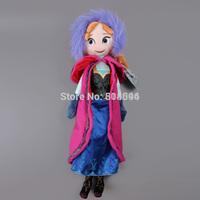 Frozen Doll Frozen Plush Toys 2014 New Princess Anna Plush Doll 50CM Brinquedos Kids Dolls for Girls ANPT224