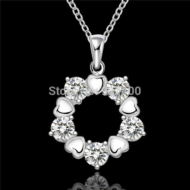 Цепочка с подвеской TRUE LOVE N566 925 CZ caviar jewellery браслет true love
