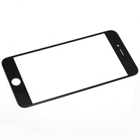 """5.5"""" inch Outer Front Glass Replacement for iphone 6 plus , free shipping!! Black, free shipping!!"""