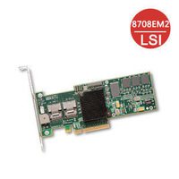 LSI Logic MegaRAID 8708EM2 SGL 8-Port 3Gb/s SAS RAID Controller Brand New