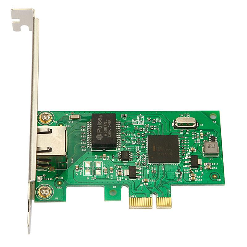 UFBOSS Low Profile 1-Port PCI Express PCIe Gigabit NIC Server Adapter UFINTEL82573 Network Card(China (Mainland))
