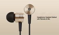 Newest! Original XIAOMI 2nd Piston Earphone 2 II Headphone Headset Earbud with Remote & Mic For MI3 MI2 MI2S MI2A Mi1S M1 Phone