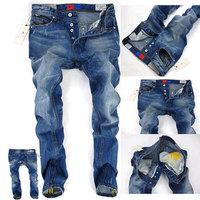 2014 New Mens Jeans,Famous Brand Fashion Designer Denim Jeans Men,Large Size 29-42,Hot Sale Jeans Brand Pants,195A,Free Shipping