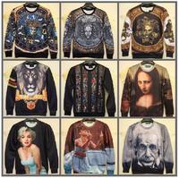2014 Fashion Women/Men printed Pullovers 3D sweatshirt believe girls printed sweaters casual Hoodies top Free shipping