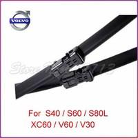 "Free shipping car wiper blade For Volvo Volvo S40 S60 S80L C30 XC60 V40 V50 Size 26"" 20"" Soft Rubber Wiper Blade 2pcs/PAIR"