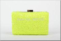 free shipping 2 colors women's bags fashion candy Sequins women chain purse M7605