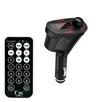 3Colors Car Kit MP3 Mucsic Player Wireless FM Transmitter Radio Modulator With USB SD MMC + Remote Control