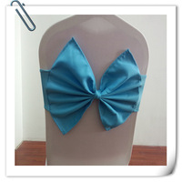 Factory Price! 100pcs/Lot! Beautiful  CHAIR COVER BOWS WEDDING SASHES  for wedding Free Shipping