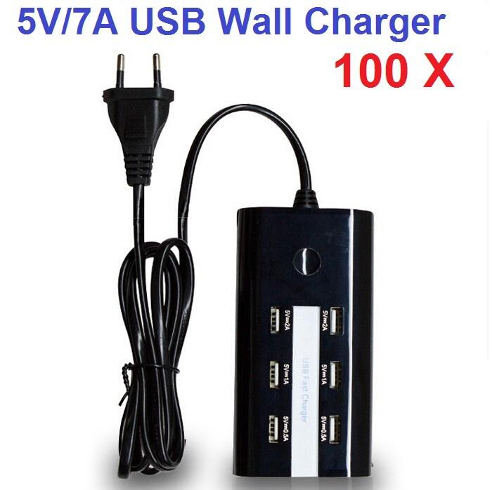 Зарядное устройство для мобильных телефонов YCD 100PCS/LOT 6 USB iPhone Samsung HTC Sony LG iPad USB AC & C-6 зарядное устройство для мобильных телефонов ycd 100pcs lot 6 usb iphone samsung htc sony lg ipad usb ac