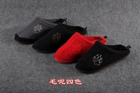 Wolf claw logo men slippers women slippers home house slipper indoor shoes winter at home adult brand shoes