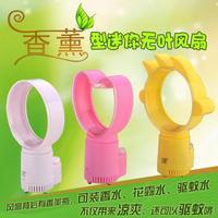 5 Inches Fragrances Wholesale Mini Fan USB Colorful Night Light Spot On Behalf Bladeless Fans