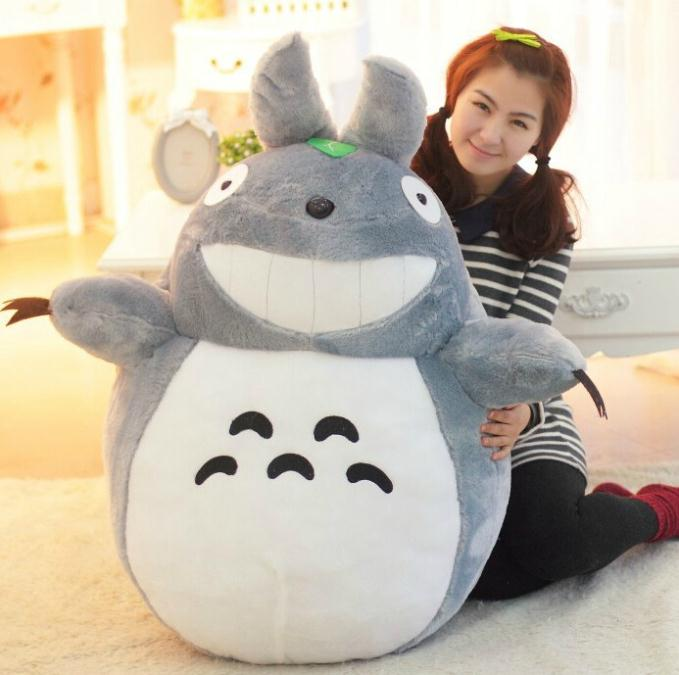 Hot Sale 40CM New Arrival Totoro Cartoon Plush Toys Famous Cartoon Stuffed Toys Best Gift For Children PT014(China (Mainland))