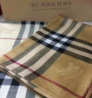British style classic plaid wool scarf quality logo female cape scarf