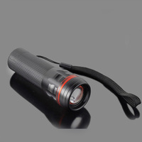 2014 hot mini 3 * AAA Batteries Zoomable bicycle bike LED Lamp Flashlight Torch light outdoor lighting tactical free shipping