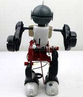 6.5''  Kids DIY Toy Tumbling & Dancing Robot Building blocks Educational & enlighten toy set good birthday gifts so funny