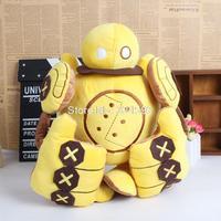 "Anime Game LOL Blitzcrank Robot Soft Stuffed Toys Plush Dolls 14"" 35CM"