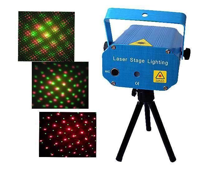Supply Laser Light Laser Light Red Green Mini Laser Light Activated Strobe Fu