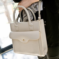 New arrival fashion Euramerican Pop star style Vintage women leather handbag /shoulder bag WLHB856