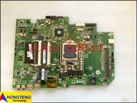 original DA0ZN9MB6H0  For HP TouchSmart  610 610-1000 Laptop Motherboard/Mainboard P/N 648512-001 100% Test ok