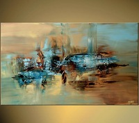 1-3190 100% Hand Painted Unframed Good Quality Large Canvas Modern  Abstract Art Canvas For Home Decoration