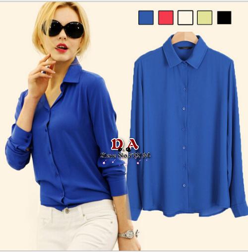 Женские блузки и Рубашки Brand new 2015 Blusa 5 Bluse Camisa Femininas женские блузки и рубашки new brand s 6xl 2015 blusa