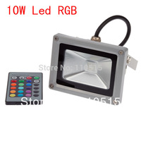 20pcs/lot FEDEX Good Quality low price 10W LED RGB Flood Light Outdoor Lamp Floodlight Waterproof 85-265V led streep light