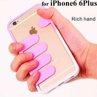 Unique Design Rich Hand Case For iPhone6 iPhone 6 Plus Free Shipping Hot