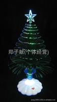 Colorful LED fiber optic Christmas tree Christmas tree Christmas decoration gifts dimensional fiber flowers