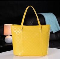 PROMOTION new 2014 famous Designed candy color bags handbags women clutch Pew LEATHER shoulder tote purse bags women bag z3221