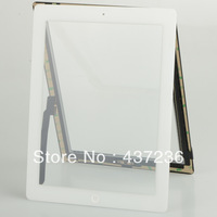 White Digitizer touch screen home button assembly Fit For ipad 3 B0116 T