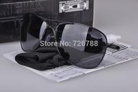 Men's Fashion Metal Glasses Sunglasses Polarized Mirror Crosshair Sunglasses Outdoor Sports Bicycle sunglass