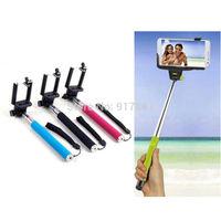 Extendable Self Portrait Selfie Handheld Stick Monopod Holder for Camera Phone