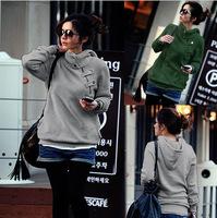 2015 new winter women's sports jacket Plus Size  hooded Sports Sweatshirt hoodies  Women Sport Suit Pullovers