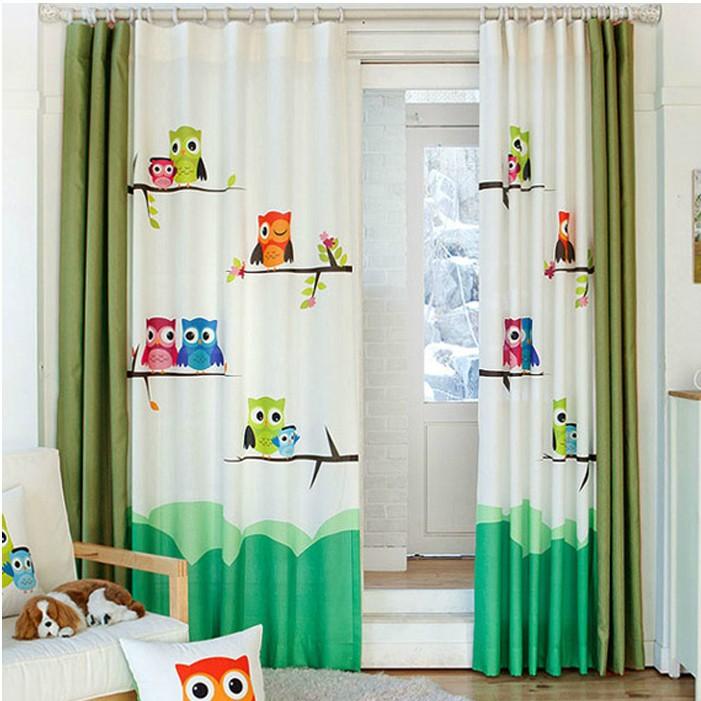 achetez en gros rideaux hibou en ligne des grossistes rideaux hibou chinois. Black Bedroom Furniture Sets. Home Design Ideas
